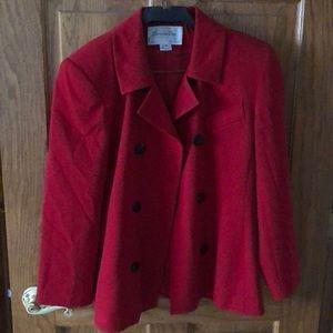 Christian Dior red blazer